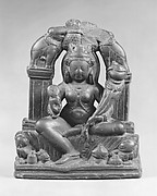 The Lustration of Lakshmi, Goddess of Fortune (Gaja Lakshmi)
