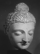 Monumental Head of Buddha