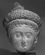 Head of a Female Deity