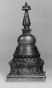 Model of a Stupa