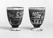 Goblet (one of a pair)