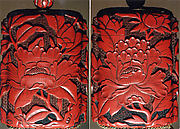 Case (Inrō) with Design of Large Flowering Peony