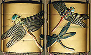 Case (Inrō) with Design of Dragon Flies