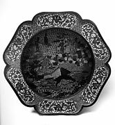 Bowl with Scene of Daoist Immortals