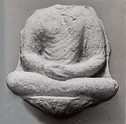 Fragment of a Relief of the Buddha
