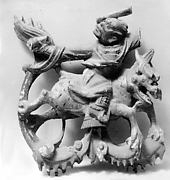 Man Mounted on Qilin