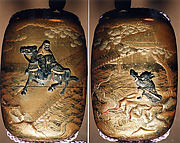 Case (Inrō) with Design of Chōryo and Kosekiko with the Shoe and the Dragon