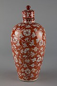 Covered Jar (one of a pair)