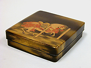 Writing Box with Decoration of a Tethered Horse