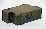 Incense Box (Kogo) with Design of Iris and Bridge (Yatsuhashi)