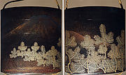 Case (Inrō) with Design of Pine Branches