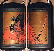 Inrō with Kabuki Actor Ichikawa Danjūrō V