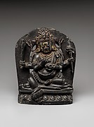 Seated Four-Armed Mahakala