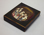 Writing Box with Design of Seven Sages of the Bamboo Grove