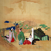 Scene from The Tale of Genji: Chapter 4, &quot;Evening Face&quot; (Ygao)