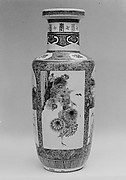 Vase with Floral Decor