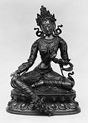 Seated Green Tara