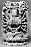 Seated Deity: Juntei Guanyin