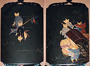 Case (Inrō) with Fox Wedding Procession