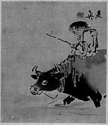 Boy on Ox