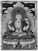 Hanging Scroll of Lama