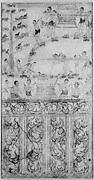Cremation of Jujaka's Body(?): Scene from Vessantara Jataka