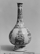 "Bottle with Theme of the ""Hundred Antiques"""