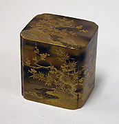 Incense Box in Three Compartments