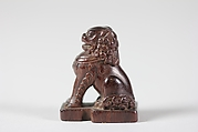 Netsuke of Seated Lion