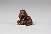 Netsuke of Monkey and Young