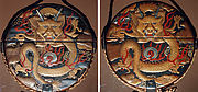 Case (Inrō) with Design of  Flaming Dragon with Clouds