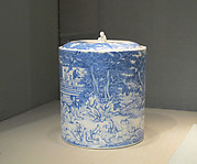 Water Jar with Poetry Gathering at the Orchid Pavilion