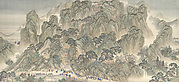 The Kangxi Emperor's Southern Inspection Tour, Scroll Three: Ji'nan to Mount Tai