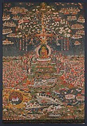Amitāyus Buddha in His Paradise
