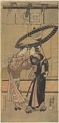 Segawa Kikunojo II as a Girl and Ichikawa Tomiyeimon?