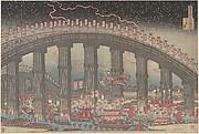 The Tenmangu Festival at Osaka