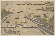 View of Fukagawa, Edo