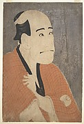 "Arashi Ryūzō I as Ishibe Kinkichi in the Play ""Hana Ayame Bunroku Soga"""