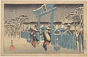 Gion Shrine in Snow