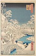 The Taiko (Drum) Bridge and the Yuhi Mound at Meguro