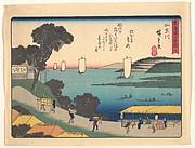 東海道五十三次 か奈川