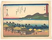 東海道五十三次 大磯