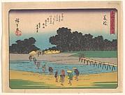 東海道五十三次 藤枝