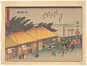 Chiryūshuku, from the series The Fifty-three Stations of the Tōkaidō Road
