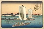 Boats Returning to Gyotoku