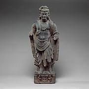 Standing Bodhisattva, probably Maitryeya (Buddha of the Future)