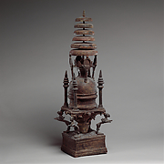 Reliquary in the Shape of a Stupa