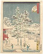 Kanda Temple Snow