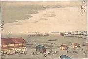 Shore Scene Showing European Influence