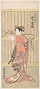 The Actor Yamashita Kinsaku in the Role of Mutsuhana